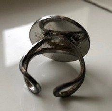 herman - metalen ring